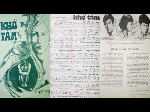 🎵 Khổ Tâm (Cô Phượng) Giao Linh Pre 1975 | Tờ Nhạc Xưa