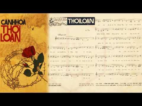 🎵 Cánh Hoa Thời Loạn (Y Vân) Hà Thanh Pre 1975 | Tờ Nhạc Xưa