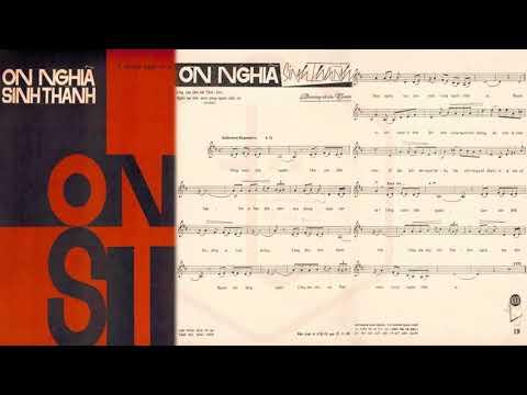 🎵 Ơn Nghĩa Sinh Thành (Dương Thiệu Tước) Duy Khánh Pre 1975 | Tờ Nhạc Xưa