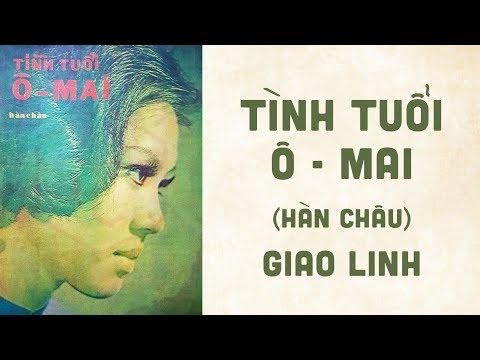 🎵 Tình Tuổi Ô Mai (Hàn Châu) Giao Linh Pre 1975 | Bìa Nhạc Xưa