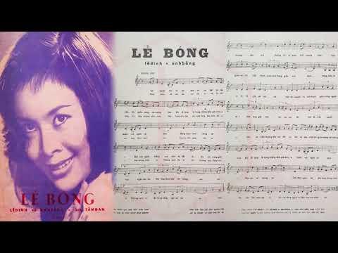 🎵 Lẻ Bóng (Anh Bằng, Lê Dinh) Hoàng Oanh Pre 1975 | Tờ Nhạc Xưa