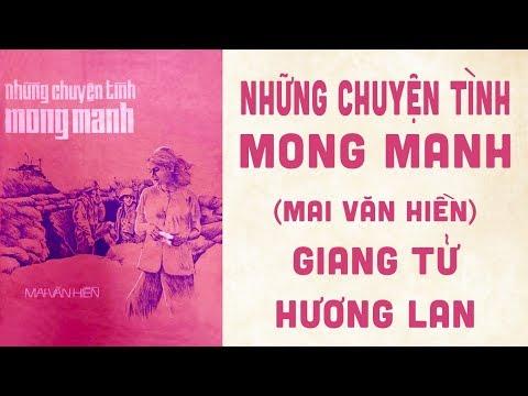 🎵 Những Chuyện Tình Mong Manh (Mai Văn Hiền) Hương Lan, Giang Tử Pre 1975 | Bìa Nhạc Xưa