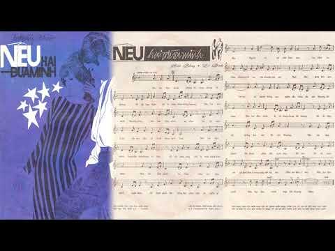 🎵 Nếu Hai Đứa Mình (Anh Bằng, Lê Dinh) Hoàng Oanh Pre 1975 | Tờ Nhạc Xưa