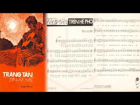 🎵 Trăng Tàn Trên Hè Phố (Phạm Thế Mỹ) Giao Linh Pre 1975 | Tờ Nhạc Xưa