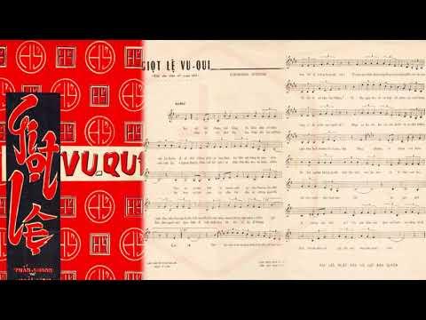 🎵 Giọt Lệ Vu Qui (Tuấn Khanh, Hoài Linh) Hoàng Oanh Pre 1975 | Tờ Nhạc Xưa
