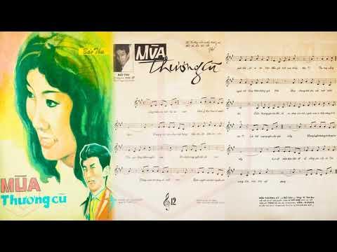 🎵 Mùa Thương Cũ (Bảo Thu) Thanh Vũ Pre 1975 | Tờ Nhạc Xưa