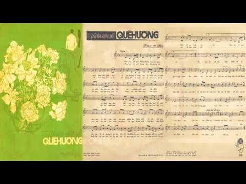 🎵 Đưa Em Về Quê Hương (Phạm Thế Mỹ) Miên Đức Thắng Pre 1975 | Tờ Nhạc Xưa