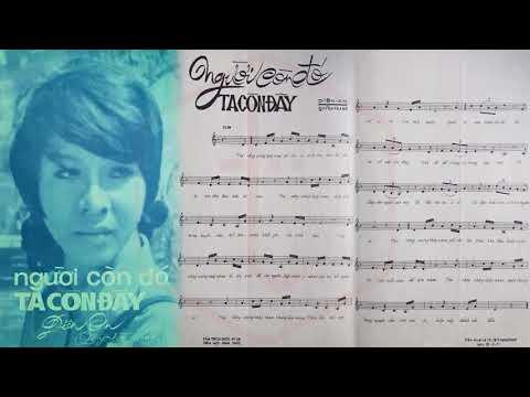 🎵 Người Còn Đó Ta Còn Đây (Diên An, Quỳnh Trang) Julie Quang Pre 1975 | Tờ Nhạc Xưa