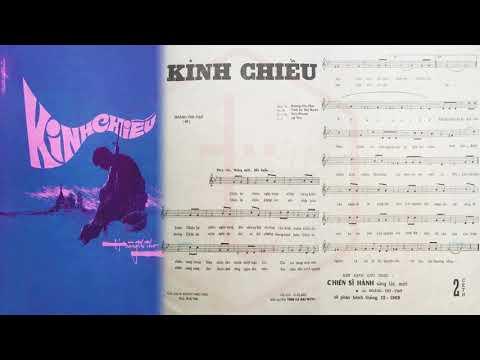 🎵 Kinh Chiều (Hoàng Thi Thơ) Khánh Ly Pre 1975 | Tờ Nhạc Xưa