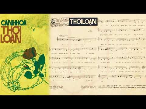 🎵 Cánh Hoa Thời Loạn (Y Vân) Thanh Lan Pre 1975 | Tờ Nhạc Xưa