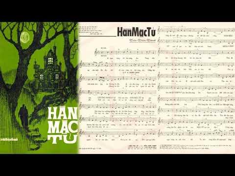 🎵 Hàn Mặc Tử (Trần Thiện Thanh) Trúc Mai Pre 1975 | Tờ Nhạc Xưa