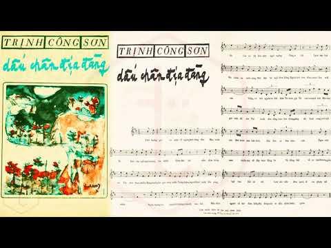 🎵 Dấu Chân Địa Đàng (Trịnh Công Sơn) Khánh Ly Pre 1975 | Tờ Nhạc Xưa