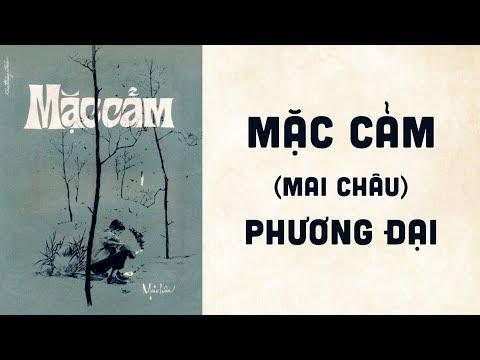 🎵 Mặc Cảm (Mai Châu) Phương Đại Pre 1975 | Bìa Nhạc Xưa