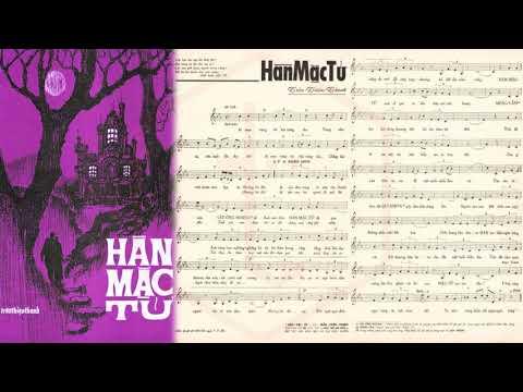 🎵 Hàn Mặc Tử (Trần Thiện Thanh) Phương Dung Pre 1975 | Tờ Nhạc Xưa