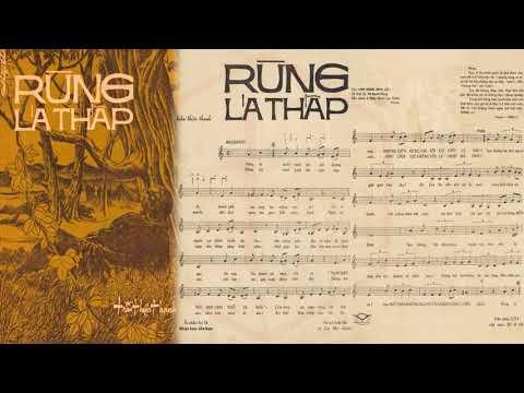 🎵 Rừng Lá Thấp (Trần Thiện Thanh) Thanh Tuyền Pre 1975 | Tờ Nhạc Xưa