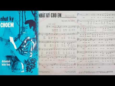 🎵 Nhật Ký Cho Em (Hoài Linh, Đoàn Linh) Minh Hiếu Pre 1975 | Tờ Nhạc Xưa
