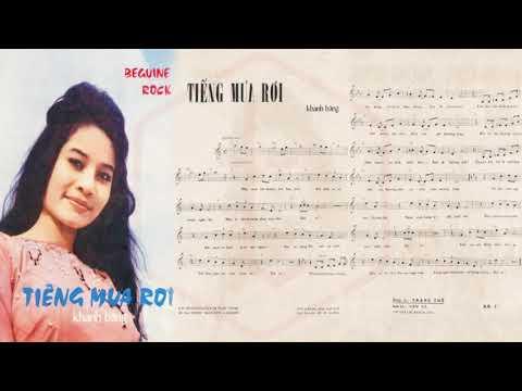 🎵 Tiếng Mưa Rơi (Khánh Băng) Connie Kim Pre 1975 | Tờ Nhạc Xưa