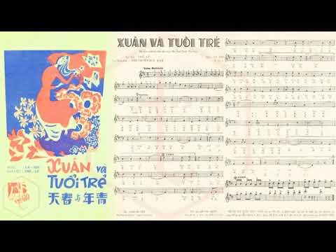 🎵 Xuân Và Tuổi Trẻ (La Hối) Sơn Ca, Bùi Thiện Pre 1975 | Tờ Nhạc Xưa