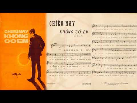 🎵 Chiều Nay Không Có Em (Ngô Thụy Miên) Khánh Ly Pre 1975 | Tờ Nhạc Xưa