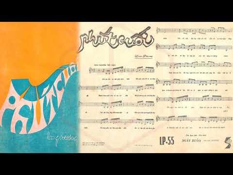 🎵 Phút Cuối (Lam Phương) Anh Khoa Pre 1975 | Tờ Nhạc Xưa