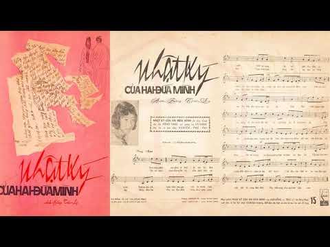 🎵 Nhật Ký Của Hai Đứa Mình (Anh Bằng, Trúc Ly) Băng Châu Pre 1975 | Tờ Nhạc Xưa