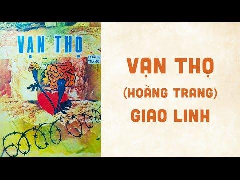 🎵 Vạn Thọ (Hoàng Trang) Giao Linh Pre 1975 | Bìa Nhạc Xưa