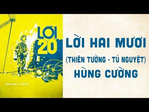 🎵 Lời 20 (Thiên Tường, Tú Nguyệt) Hùng Cường Pre 1975 | Bìa Nhạc Xưa