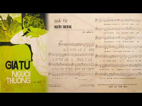 🎵 Giã Từ Người Thương (Lê Dinh) Phương Dung Pre 1975 | Tờ Nhạc Xưa