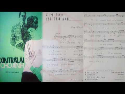 🎵 Xin Trả Lại Cho Em (Song Ngọc) Tuyết Mai Pre 1975 | Tờ Nhạc Xưa