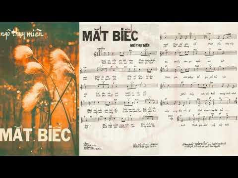 🎵 Mắt Biếc (Ngô Thụy Miên) Duy Trác Pre 1975 | Tờ Nhạc Xưa