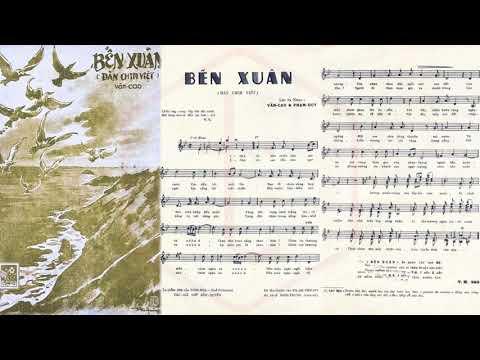🎵 Đàn Chim Việt (Văn Cao, Phạm Duy) Sĩ Phú Pre 1975 | Tờ Nhạc Xưa