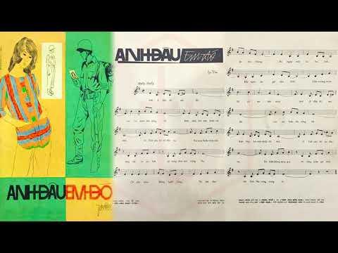🎵 Anh Đâu Em Đó (Y Vân) Phương Tâm Pre 1975 | Tờ Nhạc Xưa