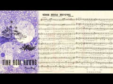 🎵 Tình Hoài Hương (Phạm Duy) Thái Thanh, Mai Hương, Quỳnh Giao Pre 1975 | Tờ Nhạc Xưa