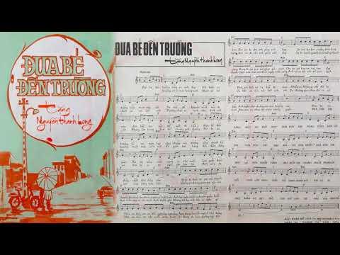 🎵 Đưa Bé Đến Trường (Phạm Duy) Duy Quang Pre 1975 | Tờ Nhạc Xưa