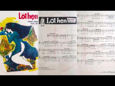 🎵 Lỗi Hẹn (Mạnh Phát, Huy Lai) Thanh Tuyền Pre 1975 | Tờ Nhạc Xưa