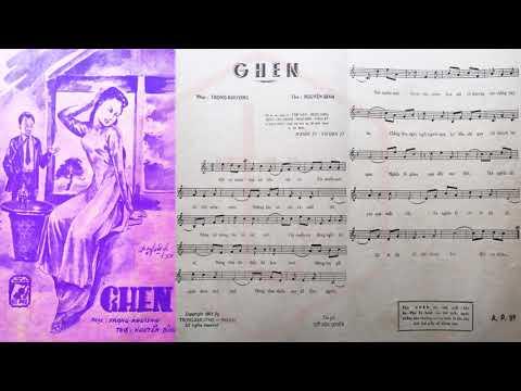 🎵 Ghen (Trọng Khương, Nguyễn Bính) Nhật Trường Pre 1975 | Tờ Nhạc Xưa