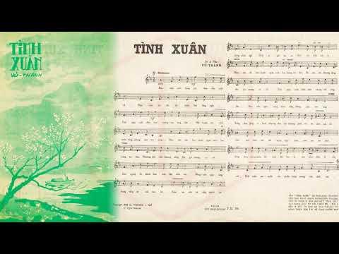 🎵 Tình Xuân (Vũ Thành) Quỳnh Giao Pre 1975 | Tờ Nhạc Xưa