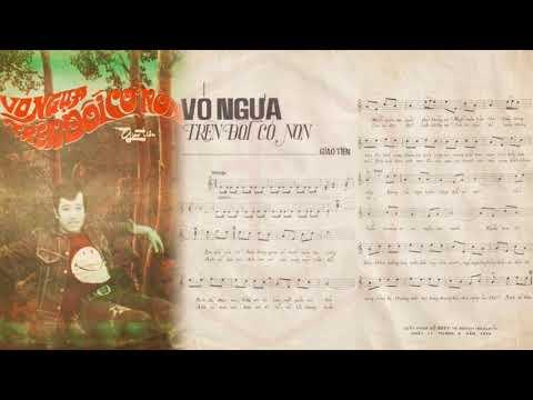 🎵 Vó Ngựa Trên Đồi Cỏ Non (Giao Tiên) Hùng Cường Pre 1975 | Tờ Nhạc Xưa