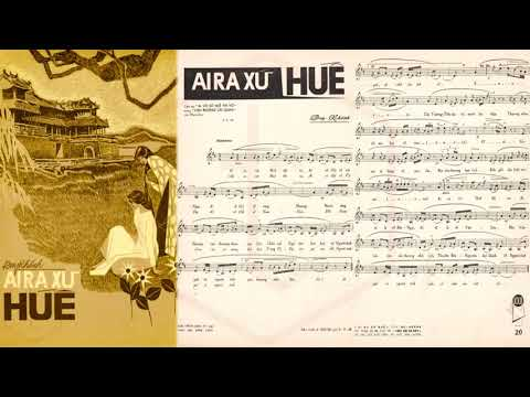 🎵 Ai Ra Xứ Huế (Duy Khánh) Hoàng Oanh Pre 1975 | Tờ Nhạc Xưa