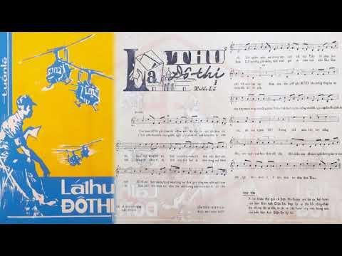 🎵 Lá Thư Đô Thị (Tuấn Lê) Chế Linh Pre 1975 | Tờ Nhạc Xưa