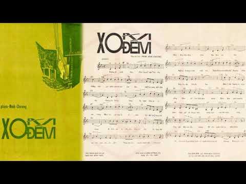 🎵 Xóm Đêm (Phạm Đình Chương) The Cat's Trio Pre 1975 | Tờ Nhạc Xưa