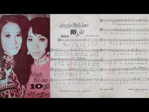 🎵 Chuyện Tình Hoa Mười Giờ (Đài Phương Trang) Thanh Tuyền Pre 1975 | Tờ Nhạc Xưa