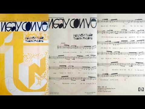 🎵 Ngày Con Về (Nguyên Thảo, Thanh Phương) Phương Đại Pre 1975 | Tờ Nhạc Xưa