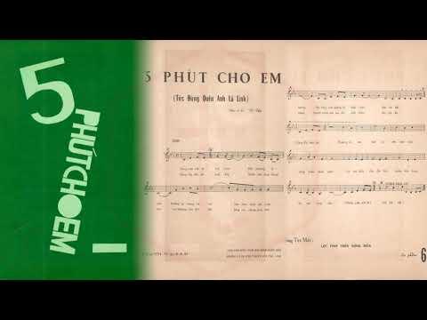 🎵 Đừng Quên Anh Là Lính (5 Phút Cho Em, Vũ Thy) Trường Hải Pre 1975 | Tờ Nhạc Xưa