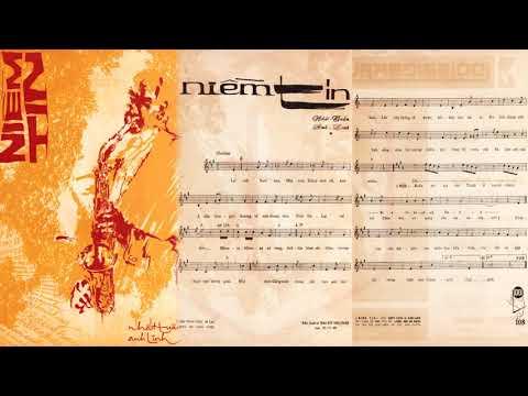 🎵 Niềm Tin (Anh Linh, Nhất Tuấn) Duy Trác Pre 1975 | Tờ Nhạc Xưa