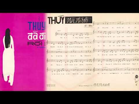 🎵 Thúy Đã Đi Rồi (Y Vân) Elvis Phương Pre 1975 | Tờ Nhạc Xưa