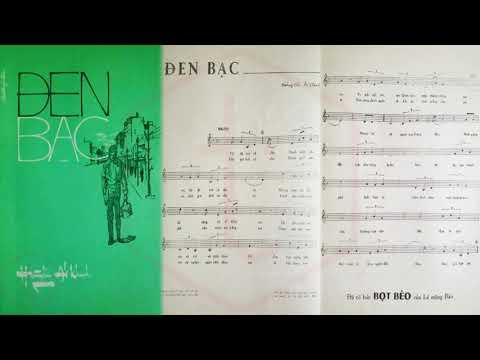 🎵 Đen Bạc (Hoàng Hải, Ái Khanh) Trang Mỹ Dung Pre 1975   Tờ Nhạc Xưa