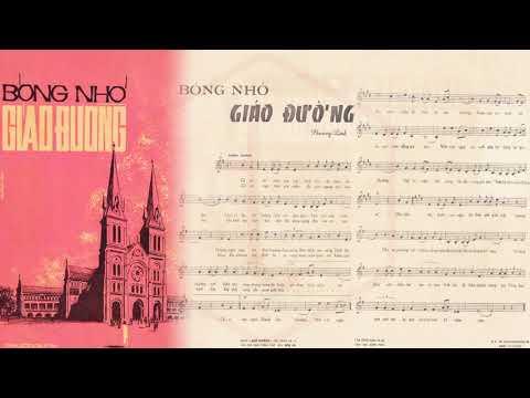🎵 Bóng Nhỏ Giáo Đường (Nguyễn Văn Đông) Giao Linh Pre 1975 | Tờ Nhạc Xưa