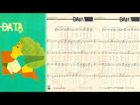 🎵 Đa Tạ (Anh Việt Thu) Hoàng Oanh Pre 1975 | Tờ Nhạc Xưa