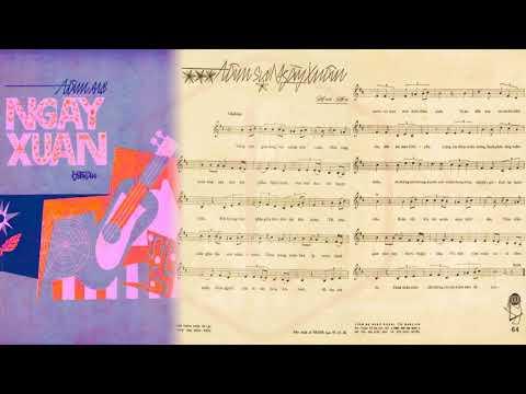 🎵 Tâm Sự Ngày Xuân (Hoài An) Băng Châu Pre 1975 | Tờ Nhạc Xưa